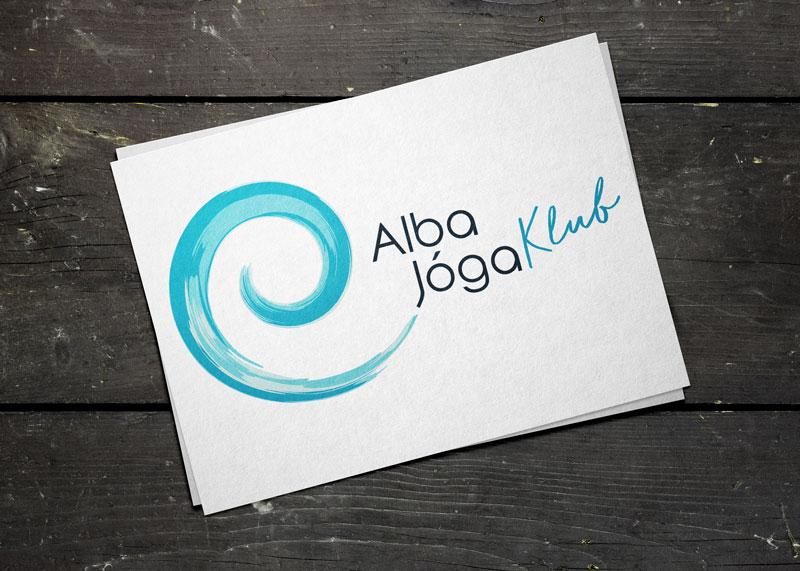 Alba jóga logó - logótervezés Szeged